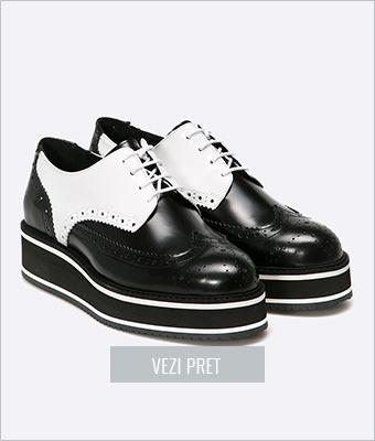Pantofi Oxford cu platforma Bronx