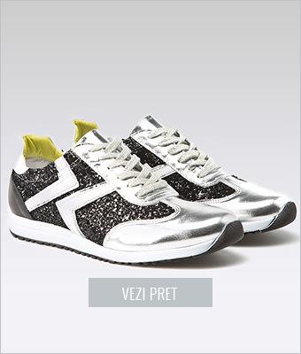 Pantofi sport cu glitter Carini