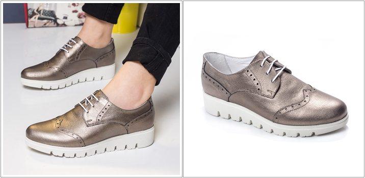 Pantofi dama piele Farmer