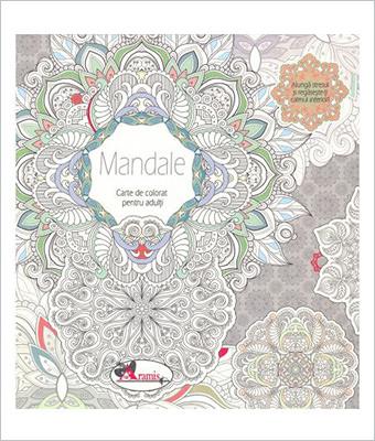Mandale Carte de colorat pentru adulti