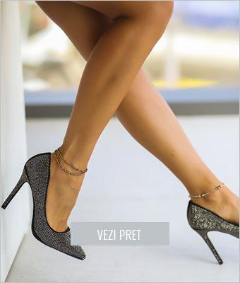 Pantofi Bovo gri
