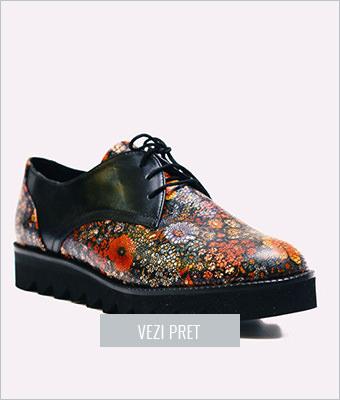 Pantofi Arnia cu platforma