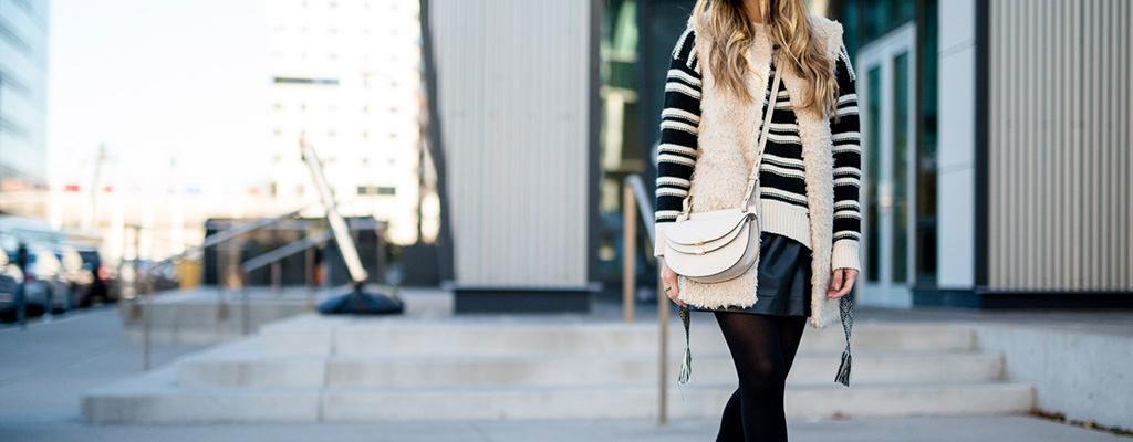 13 ținute care te vor convinge să porți combo-ul pulover și fustă