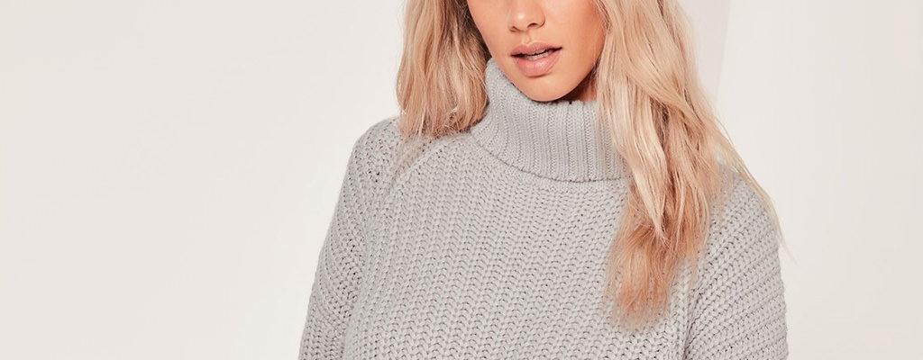 14 pulovere lungi și pufoase de damă pentru zile friguroase