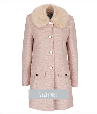 Palton roz Miss Selfridge