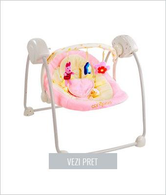 Balansoar bebelusi roz