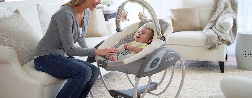 Balansoare pentru bebeluși – criterii de alegere