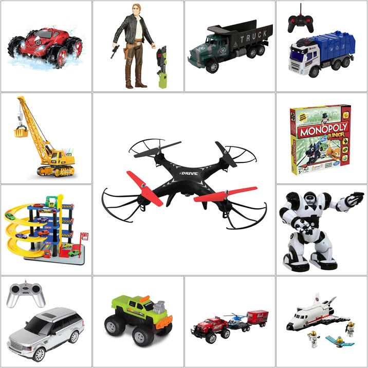Vezi întreaga oferta Noriel de cadouri de Crăciun pentru băieți!