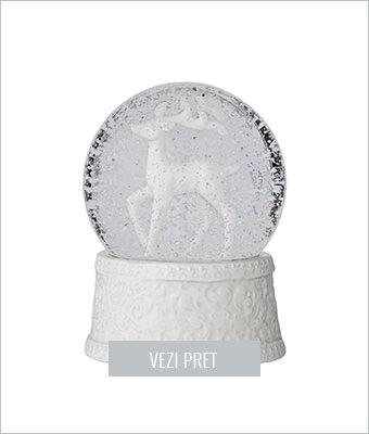 Decoratiune Snow globe