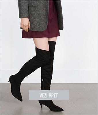 Cizme Zara peste genunchi