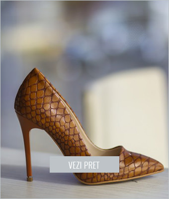 Pantofi Sema maro