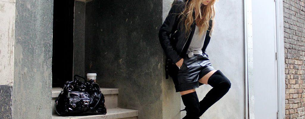 12 cizme elegante din imitație de piele întoarsă