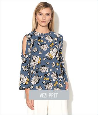 Bluza albastra Closet London