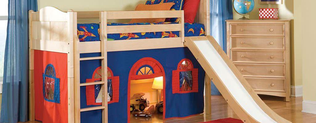 Paturi etajate și supraetajate pentru camera copiilor