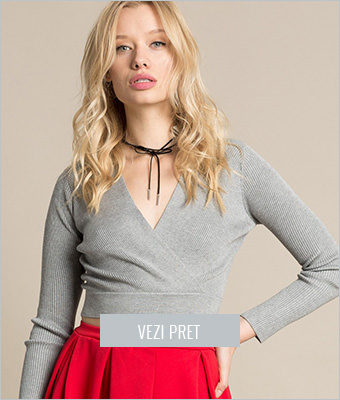 Pulover Missguided wrap