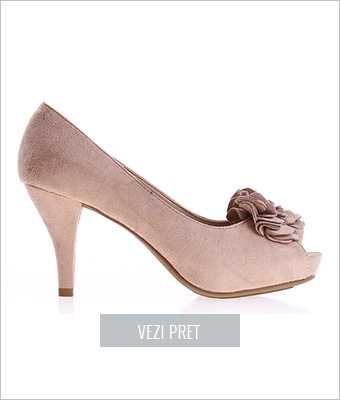 Pantofi dama Fannie roz
