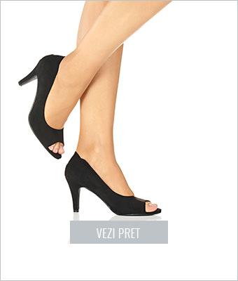 Pantofi peep-toe BPC