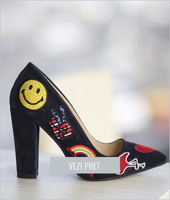 Pantofi Smile bleumarin