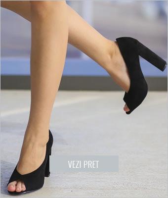 Pantofi Gutes negri