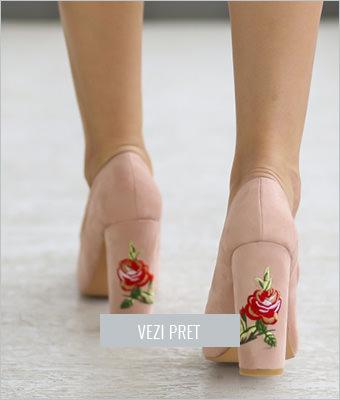 Pantofi Jojo nude