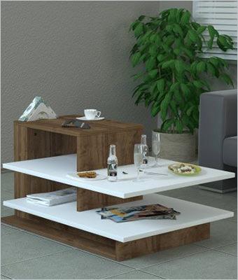 Masuta cafea Wooden Art