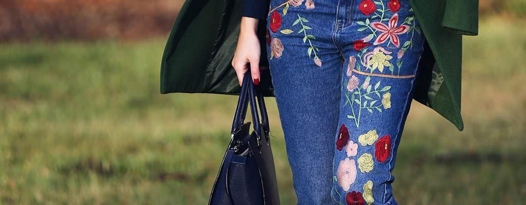 12 blugi cu broderie pentru o primăvară cu stil