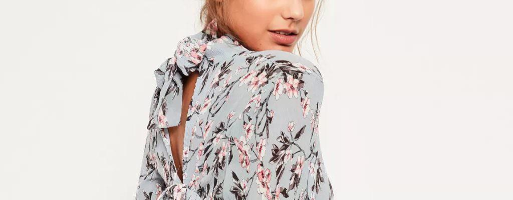 12 rochii cu imprimeu floral în tendințe în această primăvară