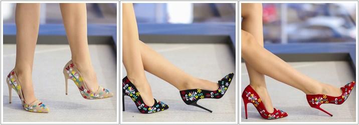 Pantofi Brodati Andi