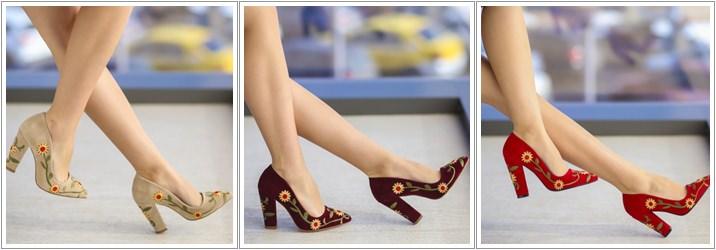 Pantofi brodati Kim