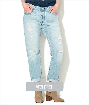 Jeansi crop bleu Levi's