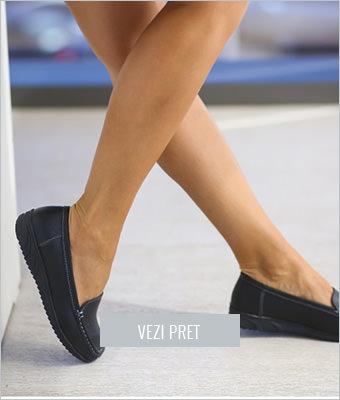 Pantofi casual Fid negri