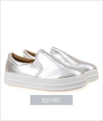Pantofi casual talpa inalta Sylvie