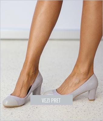 Pantofi Sono gri