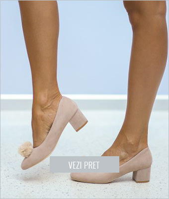 Pantofi Monela bej