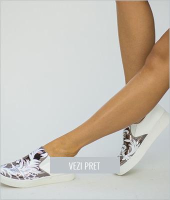 Pantofi sport Yohaz albi