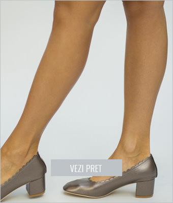 Pantofi Will gri