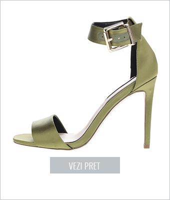 Sandale verzi Miss Selfridge
