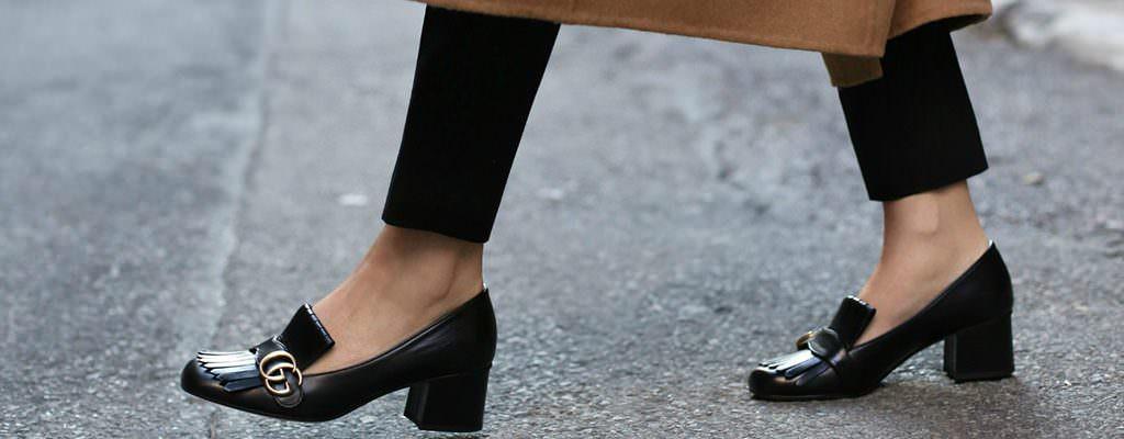 12 pantofi de damă ieftini și eleganți cu toc mic gros