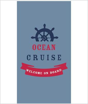 Prosop plaja Ocean cruise