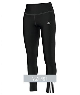 Colanti sport femei Adidas negru