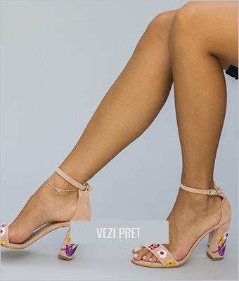 Sandale Balas roz