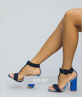 Sandale Heldy albastre