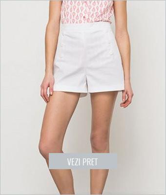 Pantaloni scurti R Edition albi