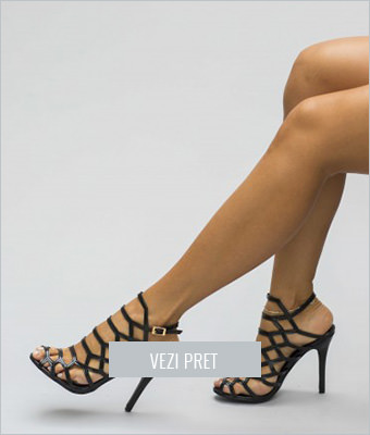 Sandale Kalina negre
