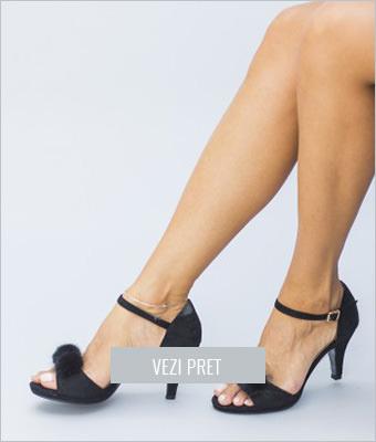 Sandale Bornito negre