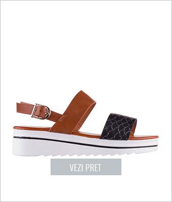 Sandale dama Palomo negre