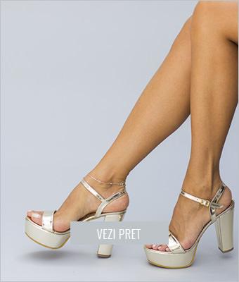 Sandale Mirra aurii