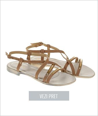 Sandale din piele naturala Monni
