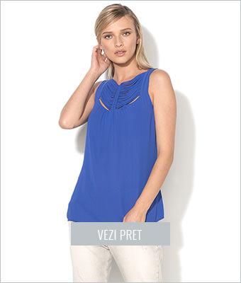 Top albastru persan Sisley