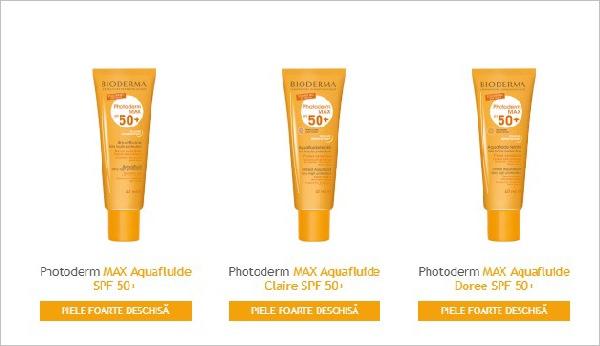 crema Bioderma Photoderm Max SPF 50 Aquafluid